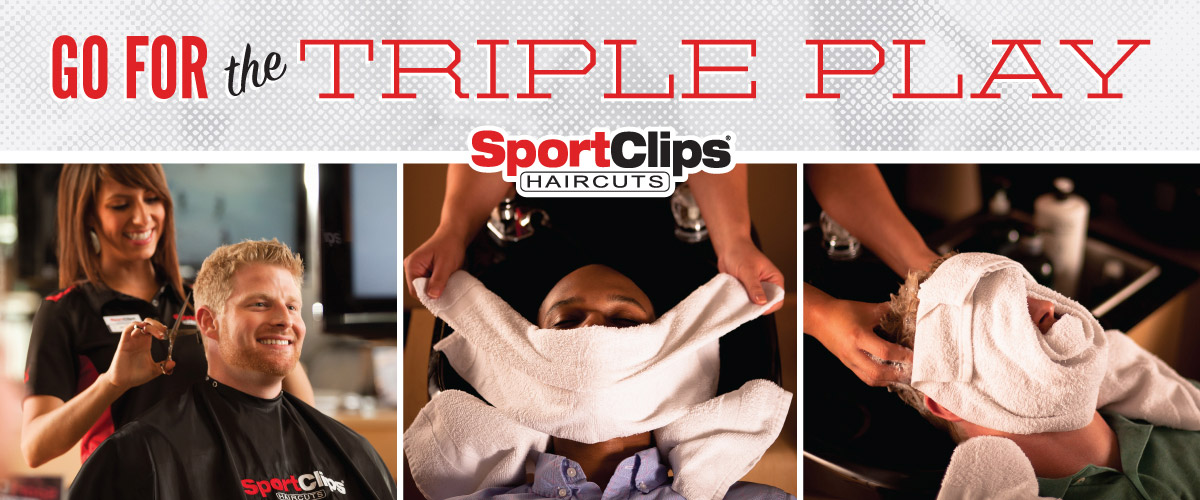 The Sport Clips Haircuts of Murrysville  Triple Play